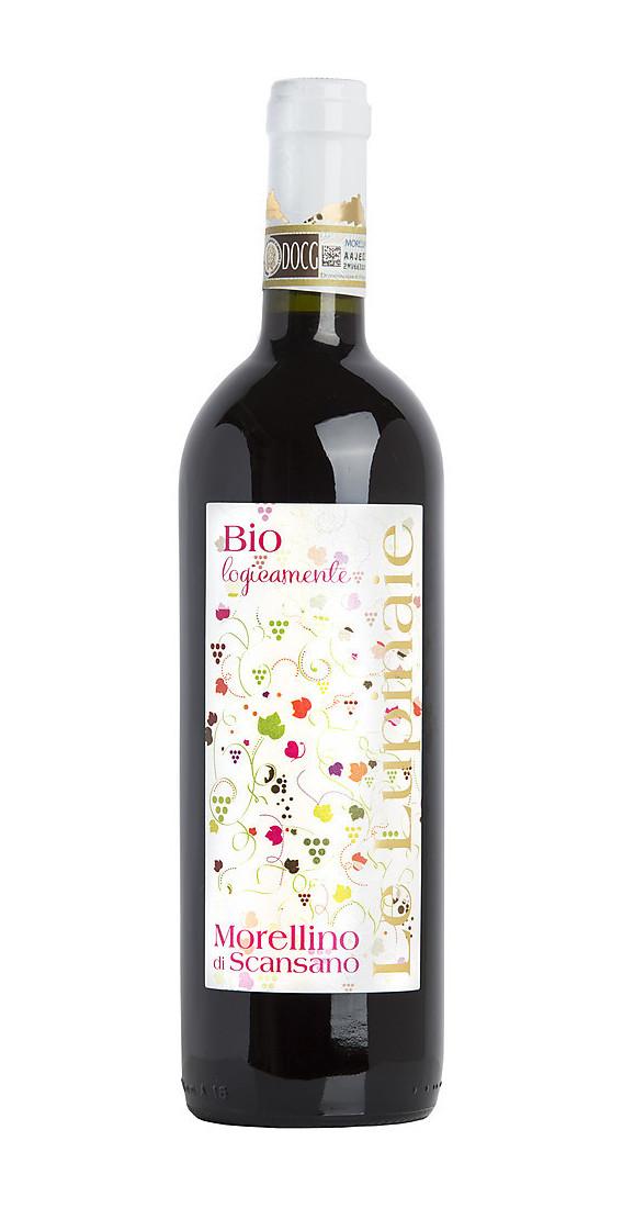 Morellino di Scansano DOCG BIO Azienda Le Lupinaie Vino Toscano - etichetta fronte