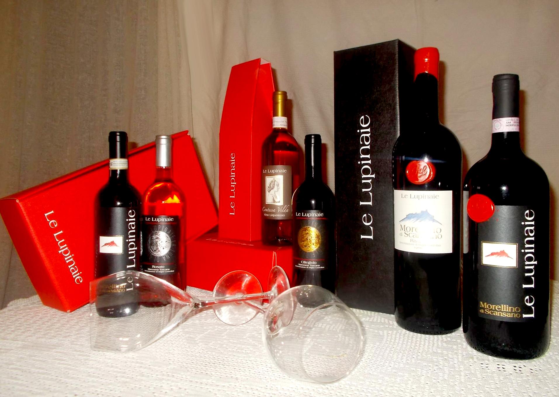 Prodotti Toscani Vino e Olio Le Lupinaie - Montiano Maremma Toscana